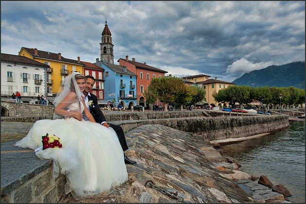 wedding photographer in Cannobio