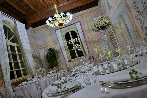 Wedding reception Villa Negri Mantua