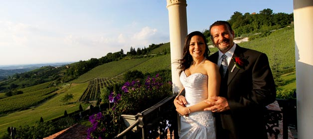 A new look for Italian Country Wedding