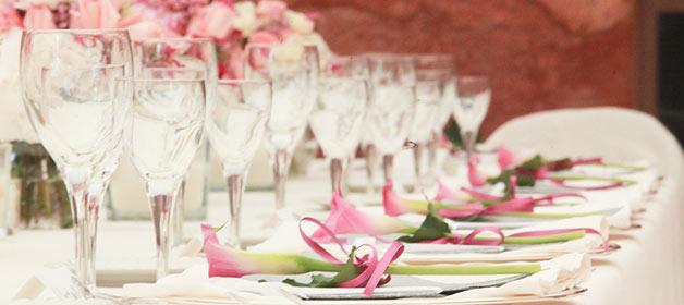Richtiges Planen der Hochzeitsdekoration