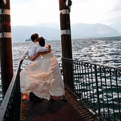 An American-Chinese wedding on Lake Maggiore