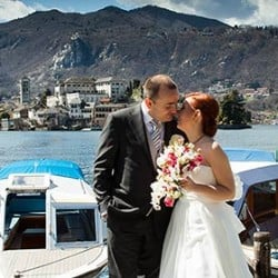 2013 Wedding Season Opening! Paola and Marco Just Married on Lake Orta