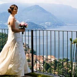 A sunny wedding in Varenna
