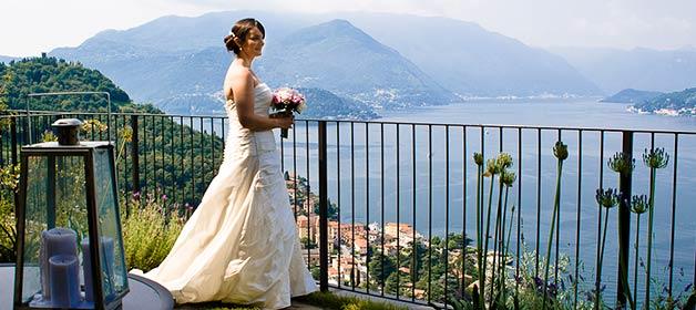 A sunny wedding in Varenna
