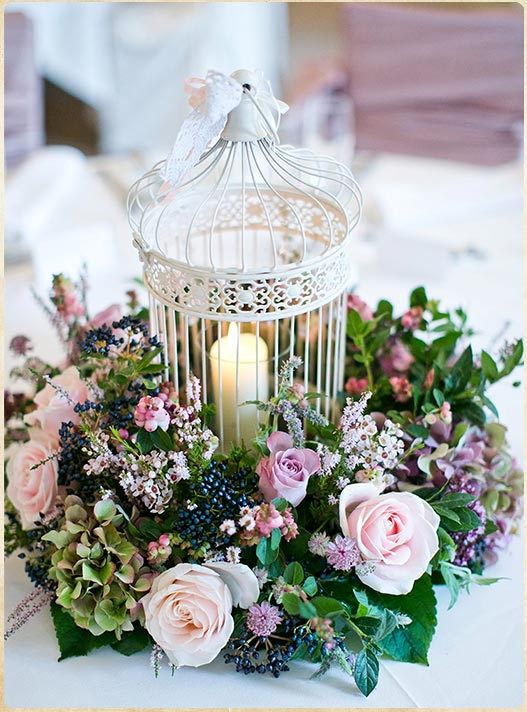 A Vintage birdcage for your wedding in Italy