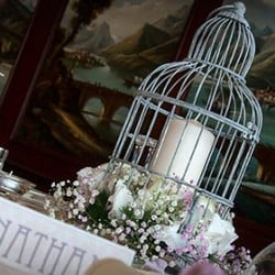 Love.... is a cage! - A Vintage birdcage for your wedding