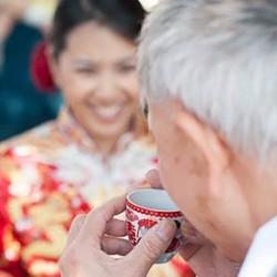 A Chinese wedding on Lake Orta