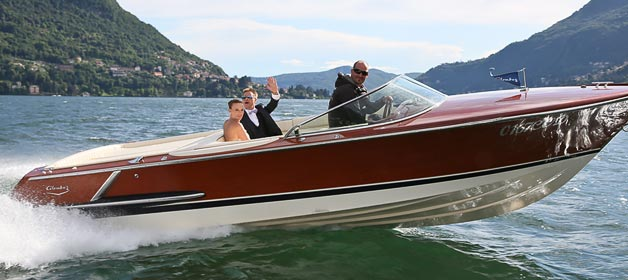 Feeling like a MOVIE STAR on Lake Como