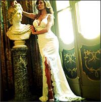 Belen Rodriguez's wedding in Italy