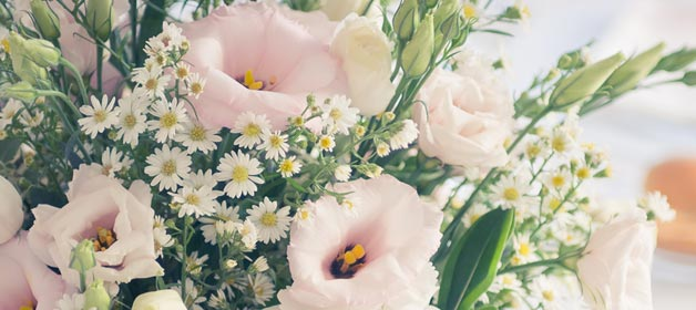 Floral Inspiration for  a Country Chic Wedding