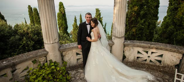 Ursula and Cathal » An elegant wedding in Sirmione
