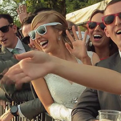 Back to Ustaria Ca dal Rat for a wonderful wedding by the shores - with video footage!