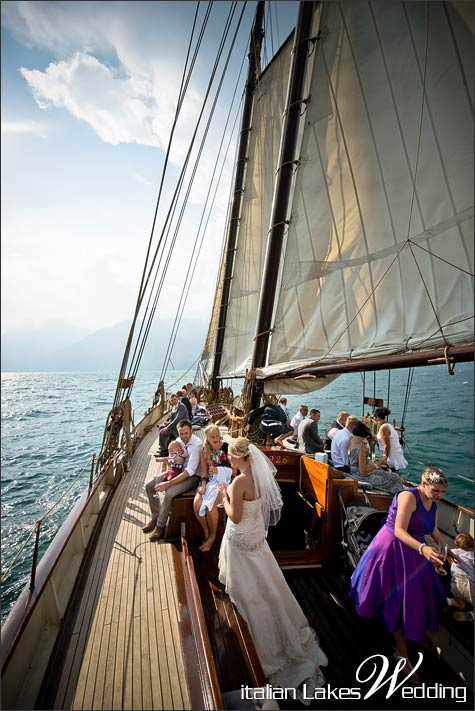 Wedding In Malcesine A Magical Cruise On Lake Garda