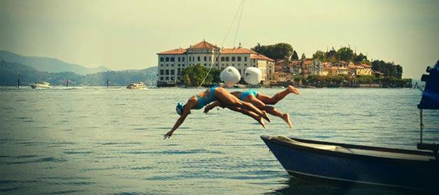 Giorgia and Davide our original and sport couple!