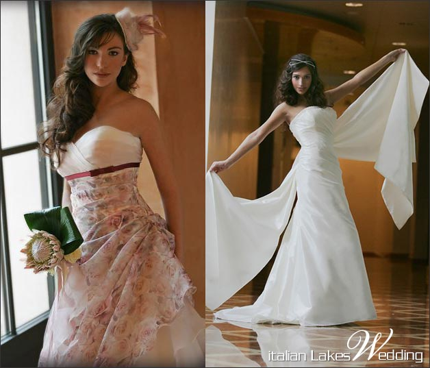 Italian wedding dresses 100 made in italy for Can i make my own wedding dress