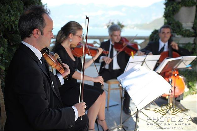 string quartet wedding Villa del Balbianello