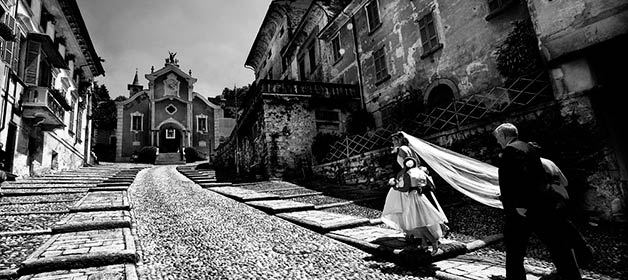 A Catholic Wedding on Lake Orta