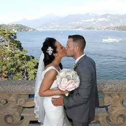 Victoria and Garry: a delightful destination wedding on Lake Como