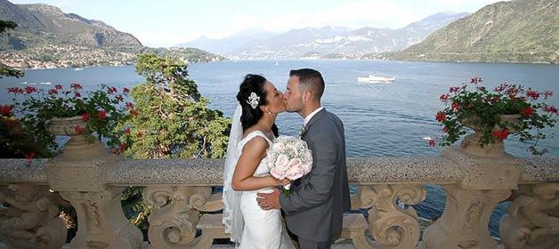 Victoria and Garry: a delightful destination wedding on Lake Como