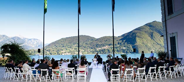 Legal Civil Ceremonies on Lake Como