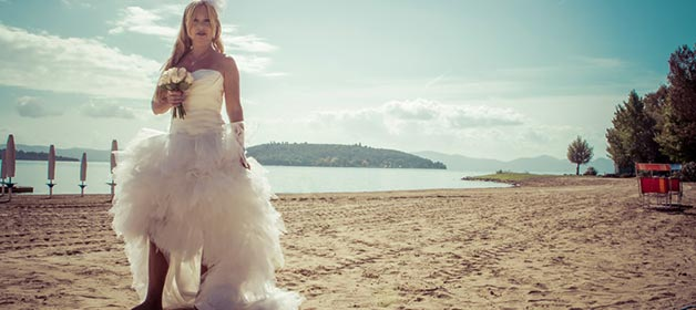 Lake Trasimeno, what a destination wedding!