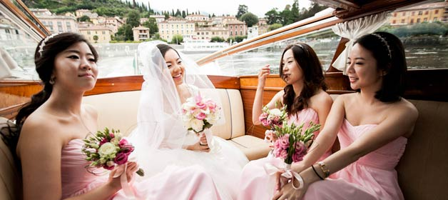 A day at Villa del Balbianello for a wonderful wedding