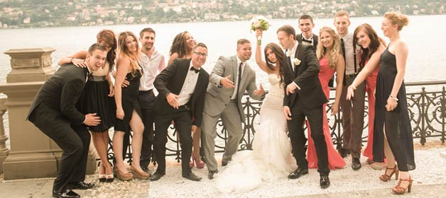 Kirsty and Joseph: from UK to Lake Como