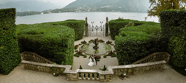Picturesque Wedding in Lake Como