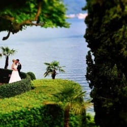 A romantic wedding on Lake Como shores