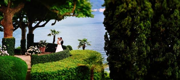 A romantic wedding on Lake Como shores