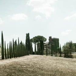 A wonderful wedding in Cortona overlooking Lake Trasimeno