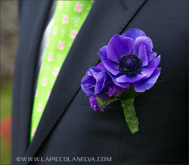 anemone-wedding-buttonhole