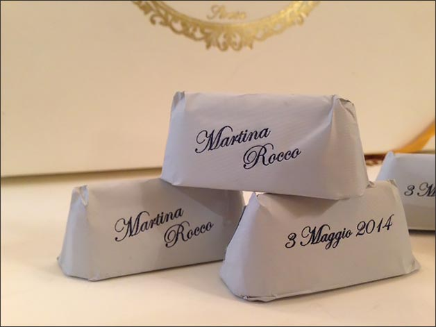 gianduiottos italian wedding favors