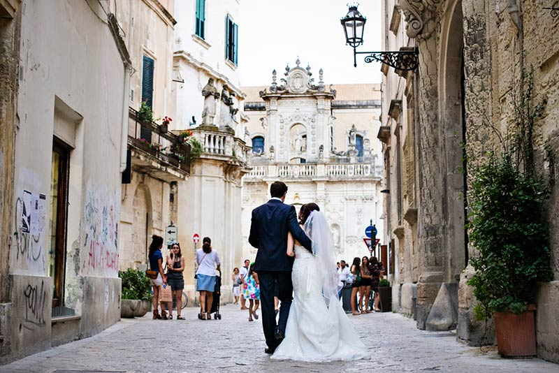 Candice & Aaron's wedding in Lecce, Apulia