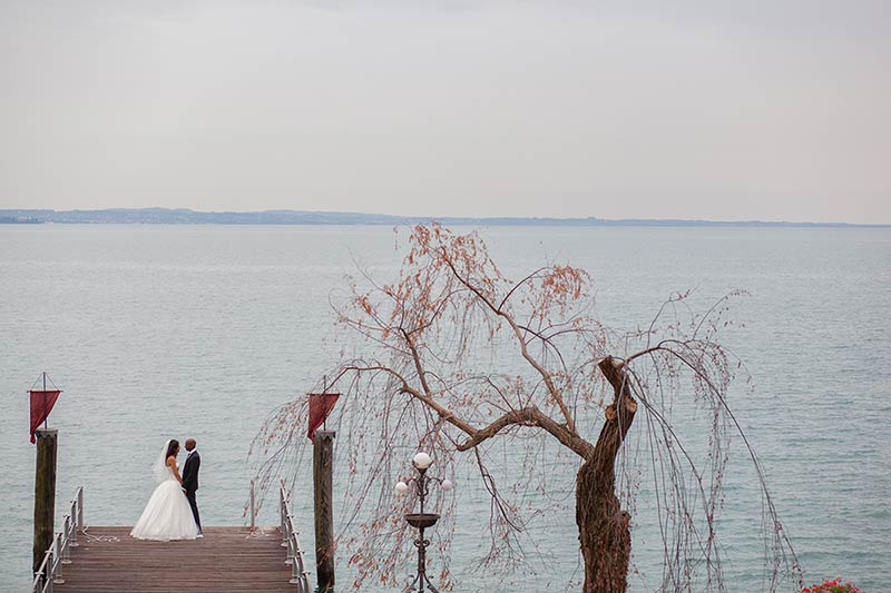 Maike and Vinod's wedding in Gardone Riviera, Lake Garda
