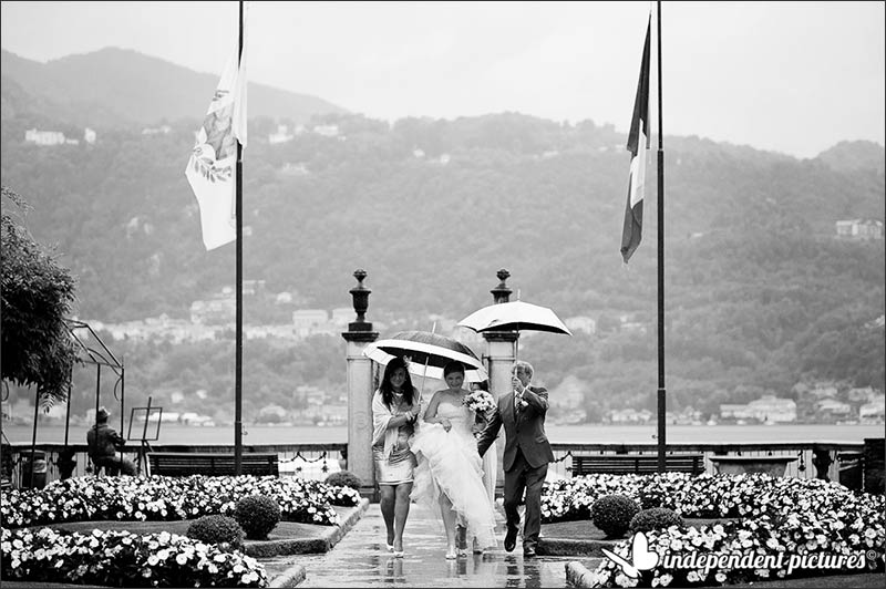 Aileen and Gregor's wedding on Lake Orta