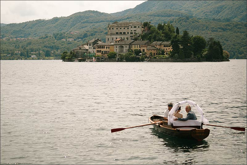 Jessica and Paul's wedding on Lake Orta