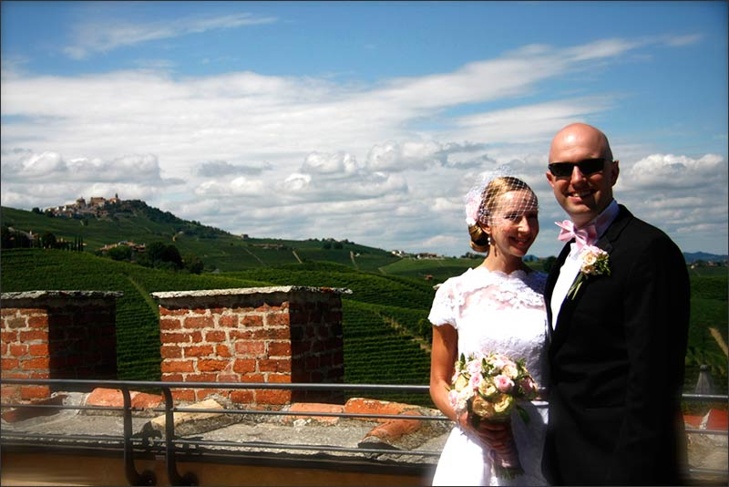 Heather and Philip's wedding in Barolo