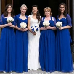 A Deep Blue themed wedding in Stresa