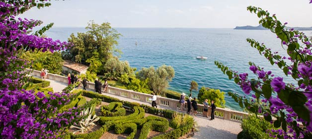 Katherine and Alexander » summer solstice on Isola del Garda