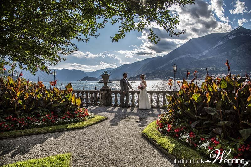 Kathleen and Thomas' wedding on Lake Como