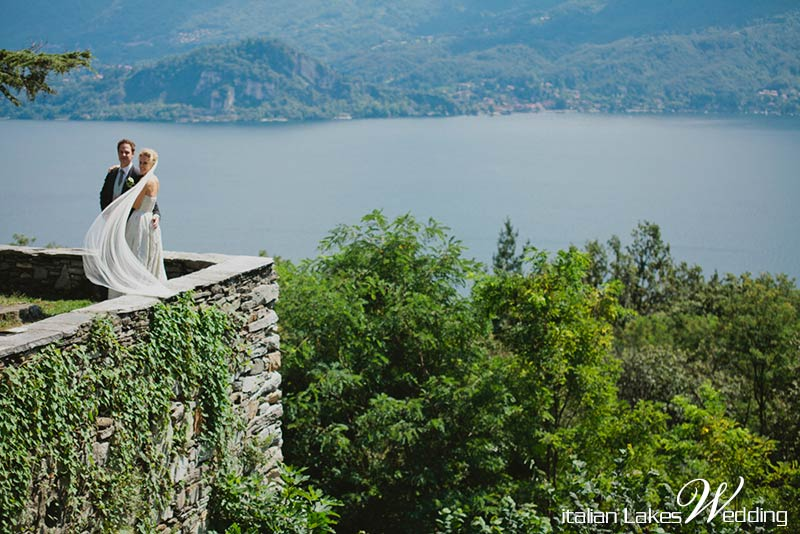 Barbara and Hansi's wedding on Lake Maggiore
