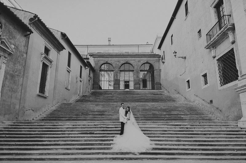 Gera and Sean's wedding in Rome