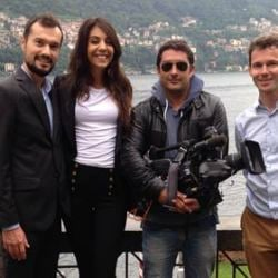 Italian Lakes Wedding – Lake Como Team on TF1 French TV!