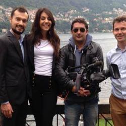 Italian Lakes Wedding - Lake Como Team on TF1 French TV!