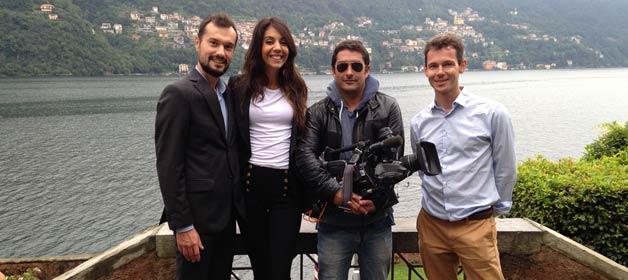 Italian Lakes Wedding – Lake Como Team on TF1 French TV!
