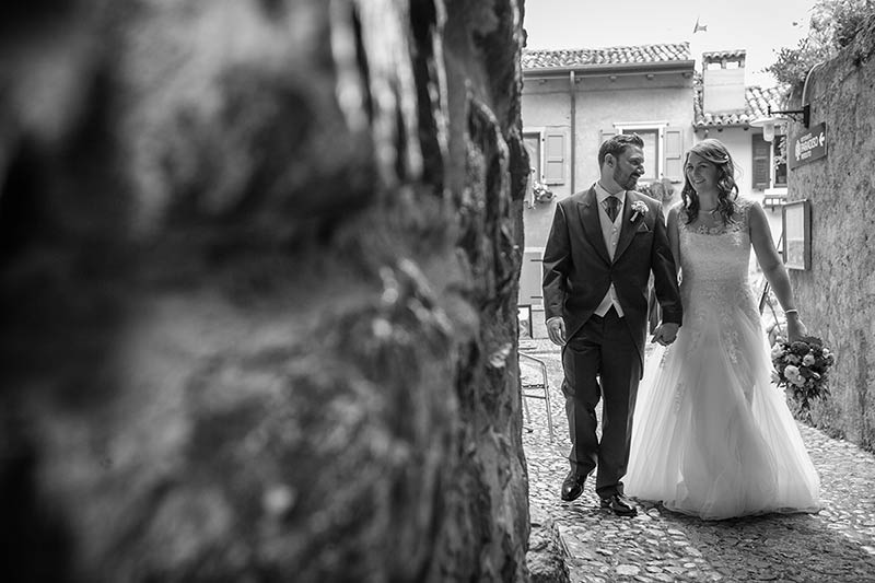 Gemma and Peter's wedding in Malcesine