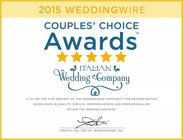 WeddingWire-Italy-award-2015