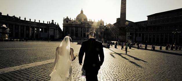 Australian wedding in Italy