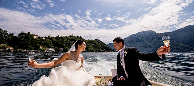 An Intimate Wedding on Lake Como